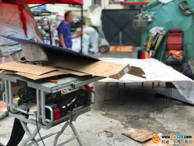 福特福克斯汽车倒模改装升级酷炫尾箱工艺造型