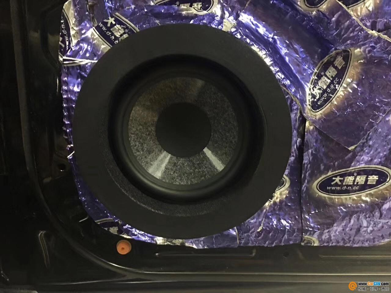 原车音响再好也要换 奔驰GL450音改FOCAL乌托邦NO.