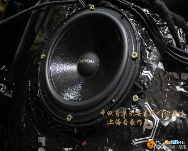 上海音豪奔驰GLE400汽车音响改装伊顿 神清气爽