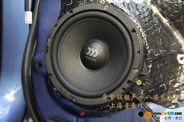 上海音豪斯巴鲁森林人汽车音响改装伊顿 音乐之旅