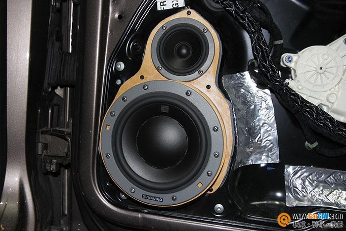 广州极速大众迈腾汽车音响改装丹拿 让耳朵嗨起来