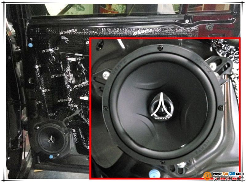 西安上尚传祺GS8汽车音响改装RS 享受音乐