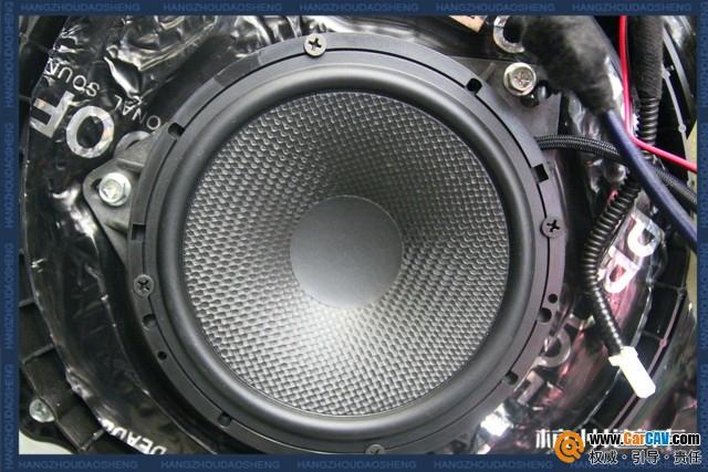 杭州道声英菲尼迪Q50汽车音响改装钻石 为你献唱