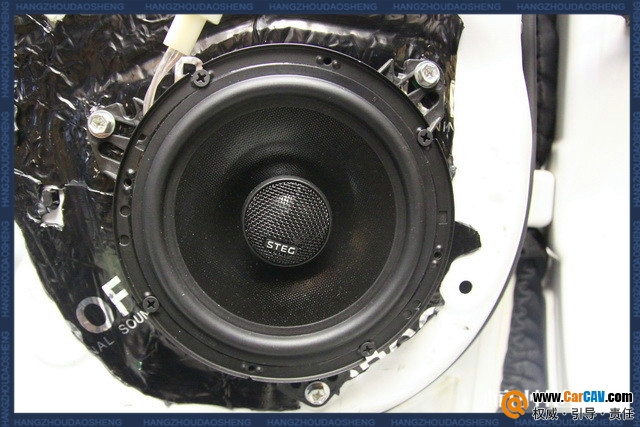 杭州道声雷克萨斯ES250汽车音响改装钻石 情感投入