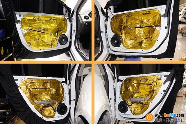 广州金声汇雪佛兰科鲁兹汽车音响改装DLS 追求梦想