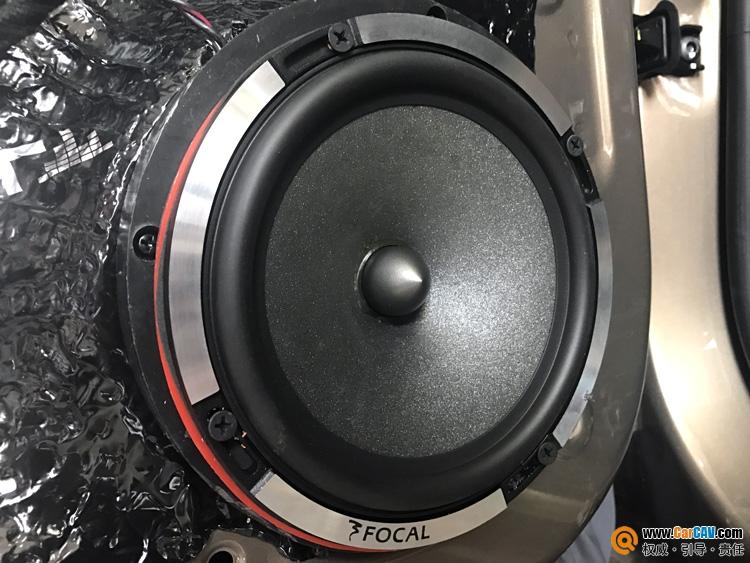 西安车乐汇大众帕萨特汽车音响改装海螺 得中频者