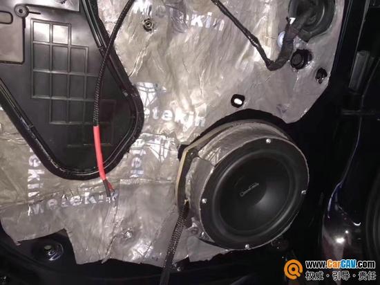 常州至上音乐奥迪Q5汽车音响改装佛伦诗 明澈悦耳