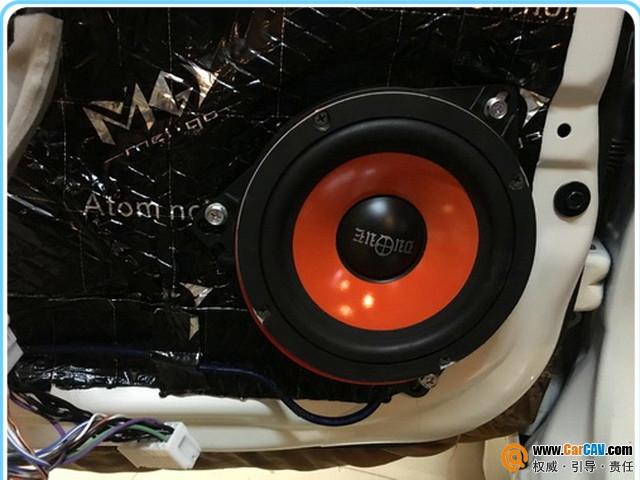 深度赏析 惠州音乐时代日产骐达汽车音响改装酷爵