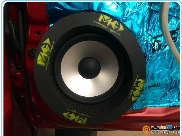 惠州音乐时代日产骐达汽车音响改装洛克力量 真情