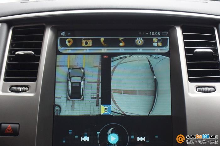 日产途乐汽车改装360全景监控行车系统