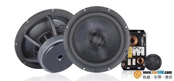 铁磁流体技术完美应用 英国GLL汽车音响P165K两分