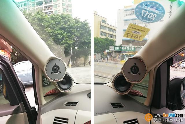 與眾不同 深圳車樂匯豐田霸道汽車音響改裝丹拿