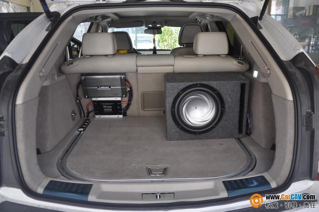 被音樂環繞 湖州城市先鋒凱迪拉克SRX4汽車音響改