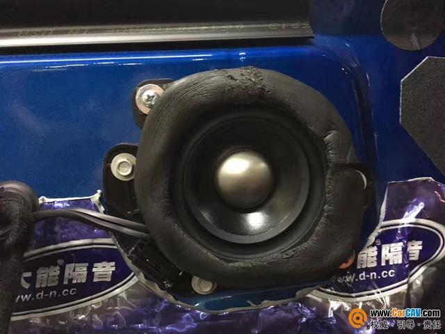 广州新塘红日福特野马汽车音响改装TEC 瞬间沸腾