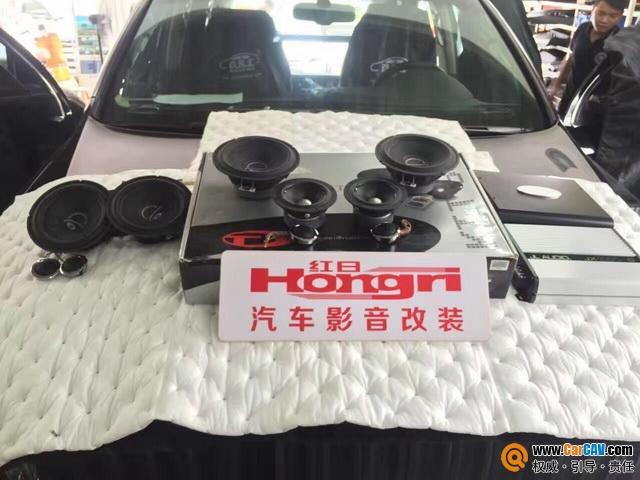 小改动大变动 广州新塘红日日产轩逸汽车音响改装