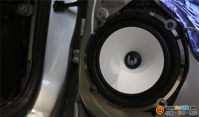 温州动感地带凯迪拉克SRX汽车音响改装卓傲 魔力晴朗