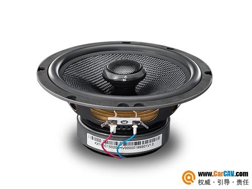 中国HiVi惠威KX-165C汽车扬声器系统车载同轴喇叭