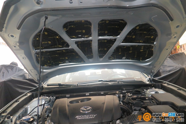 肇庆百川马自达CX4全车改装中道 隔音升级案例