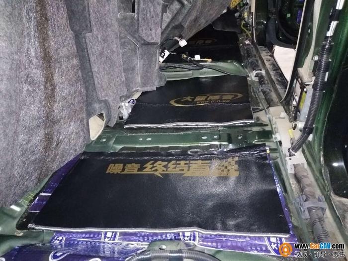 太原朗声丰田霸道大能隔音升级改装 汽车降噪处理
