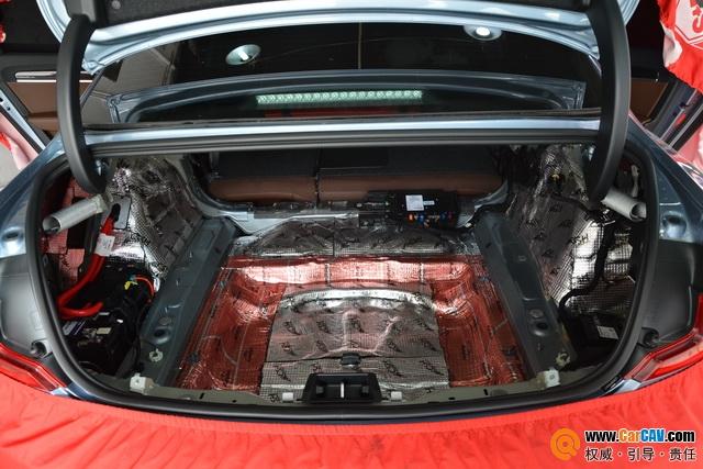 苏州广东仔沃尔沃S90全车隔音改装STP 噪音彻底解决
