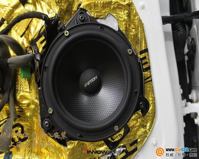 独特韵味 上海音豪沃尔沃S60L汽车音响改装伊顿