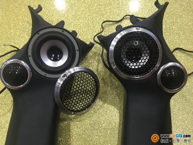 广州柏仕斯巴鲁傲虎汽车音响改装洛克力量 无损逆