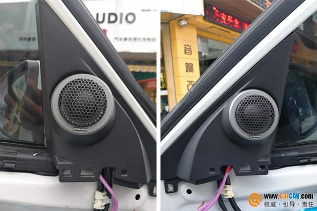 深圳车乐汇本田思域汽车音响改装丹拿 最美好的声