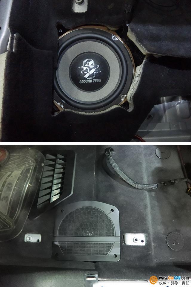 无损升级 重庆渝大昌宝马520Li汽车音响改装零点