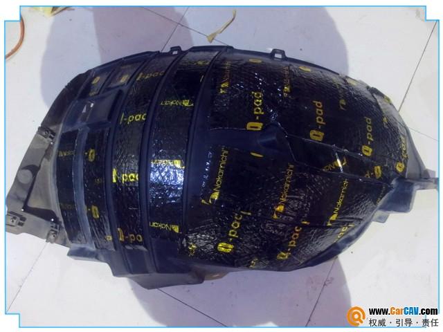 西安车神英菲尼迪FX37汽车隔音改装中道 隔音升级降噪