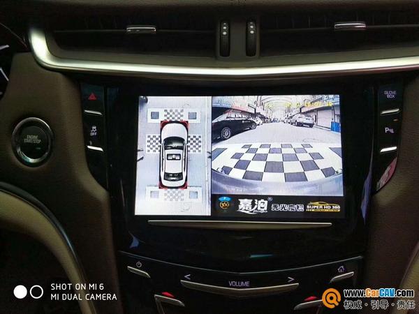 斯柯达汽车升级泊车系统360全景系统