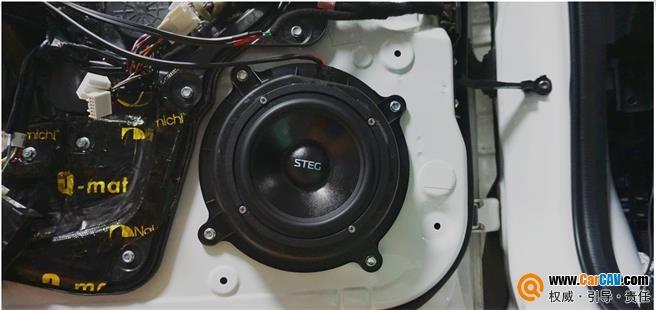 汕头悦心马自达CX-5汽车音响改装史泰格 看完你就