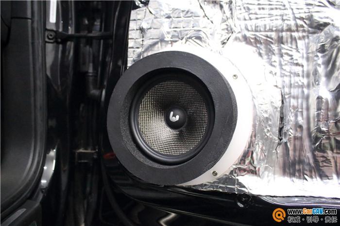 东莞精至奥迪Q5汽车音响改装诗芬尼 霸气登场