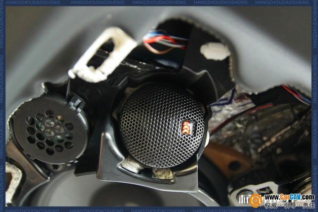 流淌耳际 杭州道声特斯拉MQDELX汽车音响改装丹拿