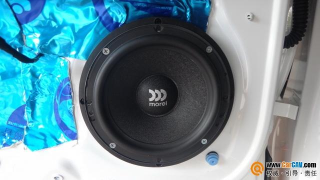 声如洪钟 泉州车乐汇宝沃BX5汽车音响改装摩雷