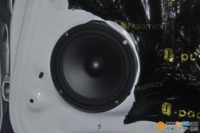 湖州城市先锋本田XRV汽车音响改装MOHAWK 怡然自得