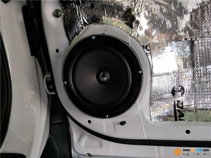 大庆春龙本田CRV汽车音响改装卓傲 音质细腻