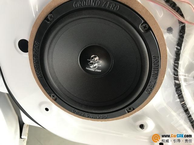 柳州金手指宝骏310W汽车音响改装零点 无损音质