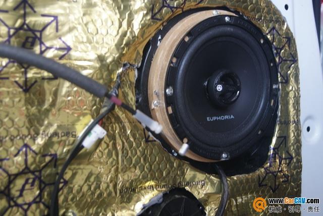 新疆彩声现代名图汽车音响改装丹拿 慷慨激扬