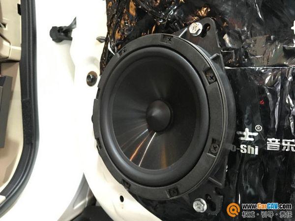 日产奇骏改装卡顿CA-216套装喇叭,享受舒适的出行方式