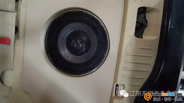 江阴东明福特S-MAX汽车音响改装零点 神迷心醉