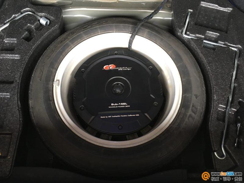 汕头星悦雷克萨斯ES250汽车音响改装赫兹