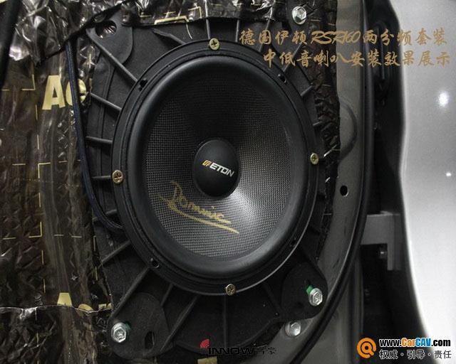 一见钟情 上海音豪雷克萨斯RX470汽车音响改装伊顿