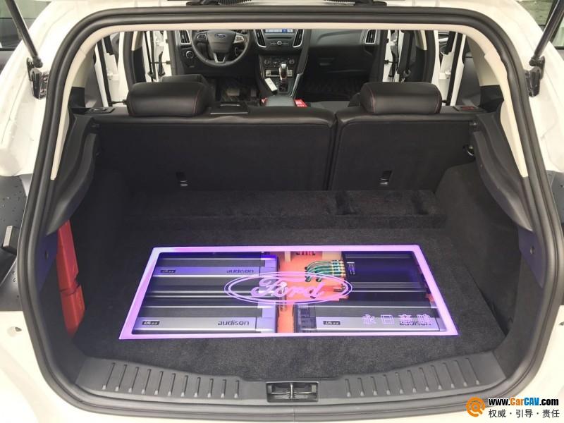 顺德永日福特福克斯汽车音响改装丹拿 拥有纯净般