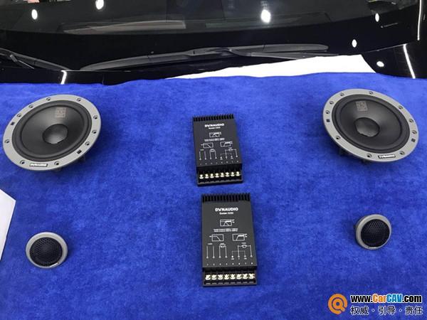 沧州沃富林雷克萨斯ES300汽车音响改装丹拿  享受