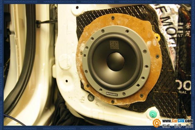 杭州道声马自达CX-5汽车音响改装丹拿 聆听最美之