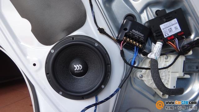 泉州车乐汇斯柯达野帝汽车音响改装摩雷 清晰靓丽
