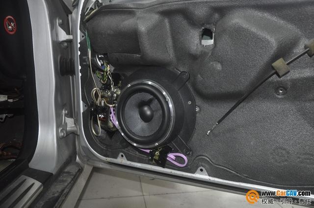 湖州城市先锋奔驰SLK350汽车音响改装豪客 浮游荡漾