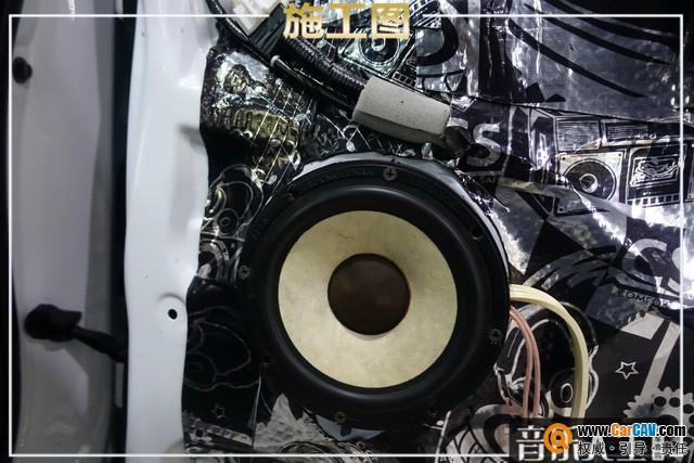 南京音乐人生本田CRV汽车音响改装ATI 范感十足