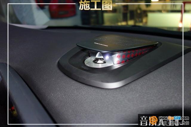 南京音乐人生宝马X5汽车音响改装来福  豪车≠好音响