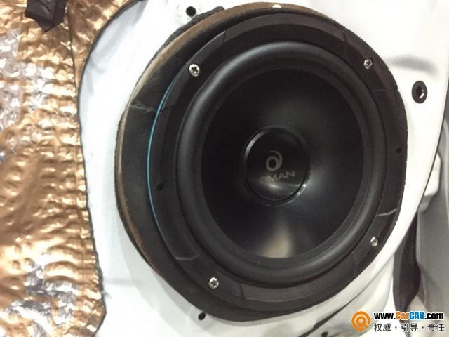 广州新塘红日丰田卡罗拉汽车音响改装伊曼 与音乐